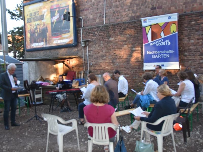 Ökumenischer Gottesdienst am Schöpfungstag im Nachbarschaftsgarten in Saarbrücken-Malstatt, Fotos: Bischöfliche Pressestelle/Ute Kirch