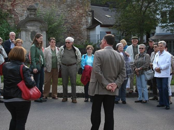 Prof. Joachim Conrad führt wieder auf 'Evangelischen Wegen' durch Alt-Saarbrücken, Foto: evks/Eulenstein