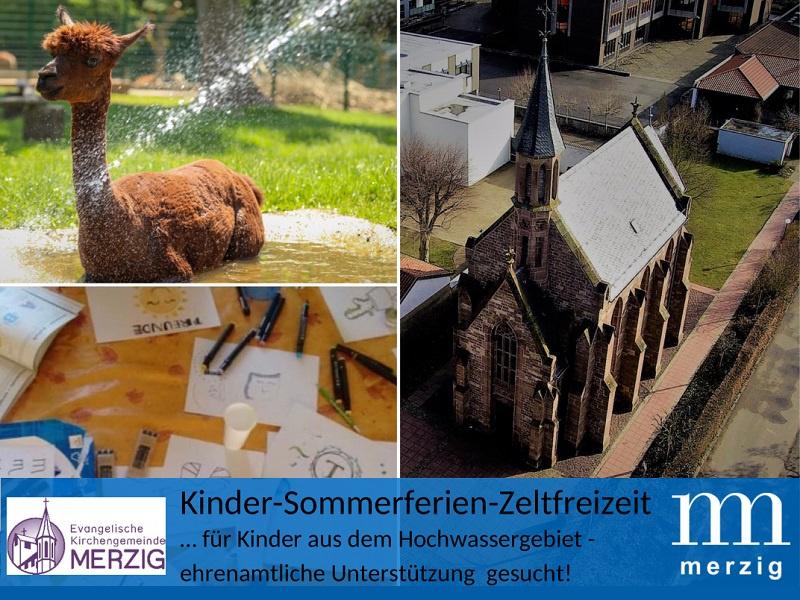 Kirchengemeinde und Kreisstadt Merzig veranstalten Sommerfreizeit für Kinder aus den Hochwassergebieten: Unterstützung gesucht