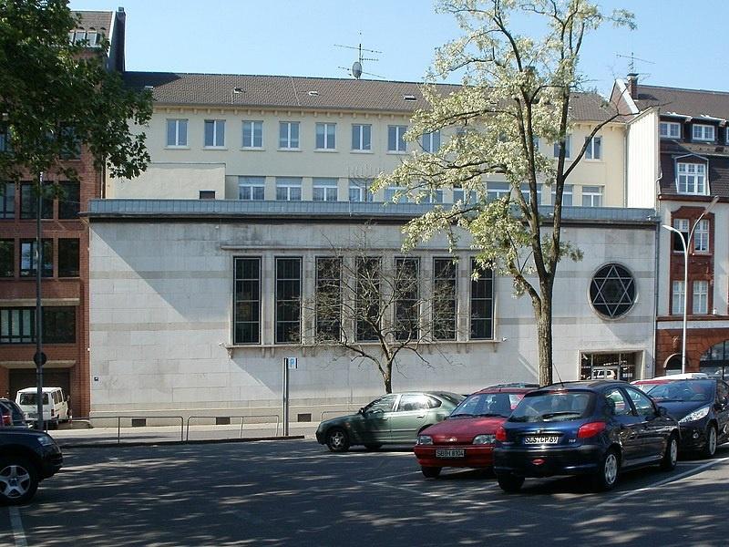 """Die Saarbrücker Synagoge, die in diesem Jahr 70 Jahre alt wird, Foto: gemeinfrei über """"CC0 1.0 Verzicht auf das Copyright"""""""