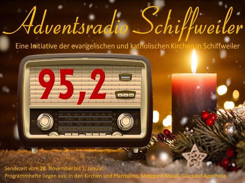 """""""Weihnachtsatmosphäre für die Wohnzimmer"""" - Kirche in Schiffweiler startet ökumenischen Radiosender im Advent"""