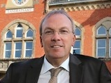 Landrat Udo Recktenwald interpretierte die Jahreslosung 2020 bei  der Neujahrsandacht in St. Wendel