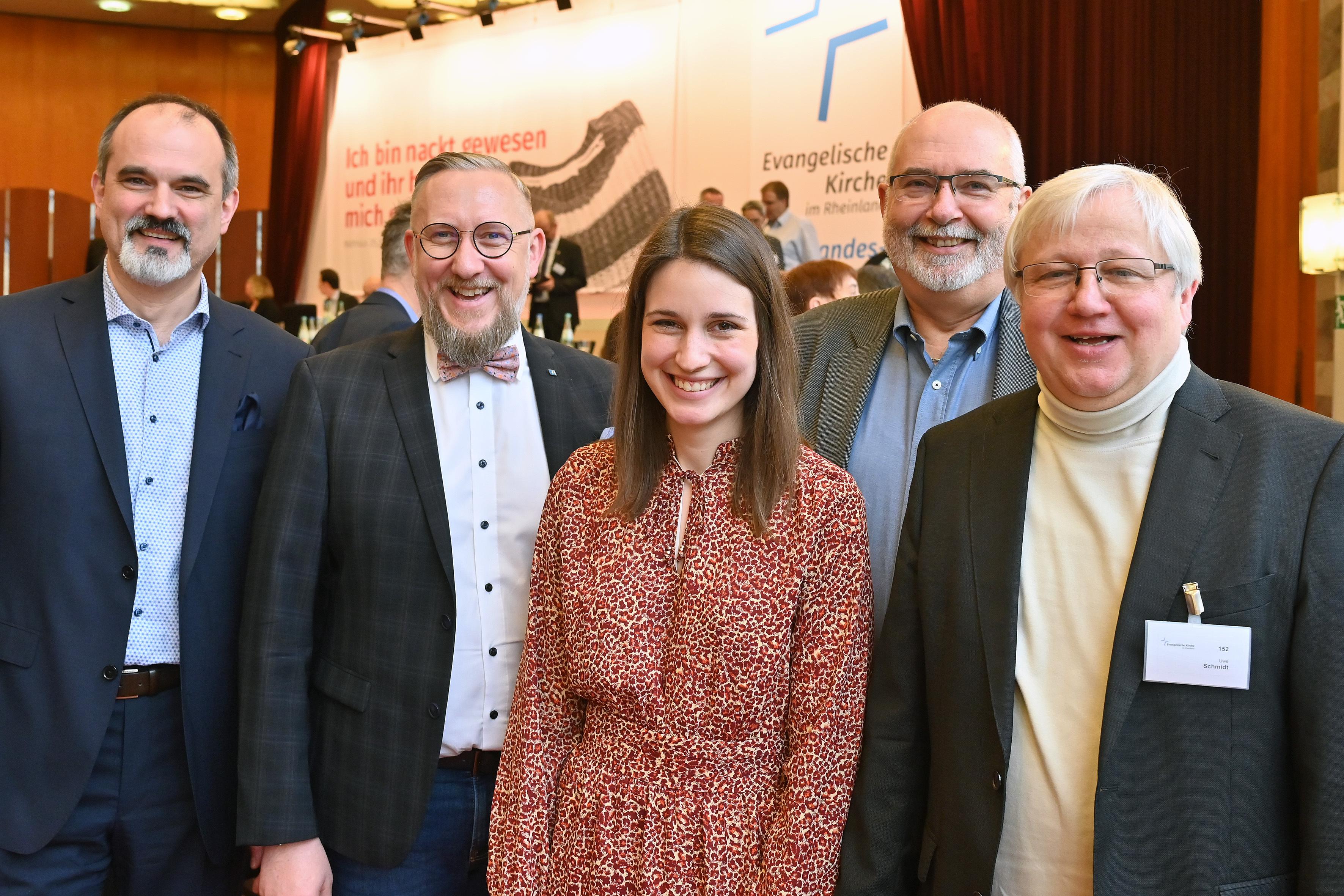 Die Delegation 2020: v.l.n.r. Markus Karsch, Oliver Kremp-Mohr, Wiebke Kopmeier, Udo Blank und Uwe Schmidt Foto Hans-Jürgen Vollrath