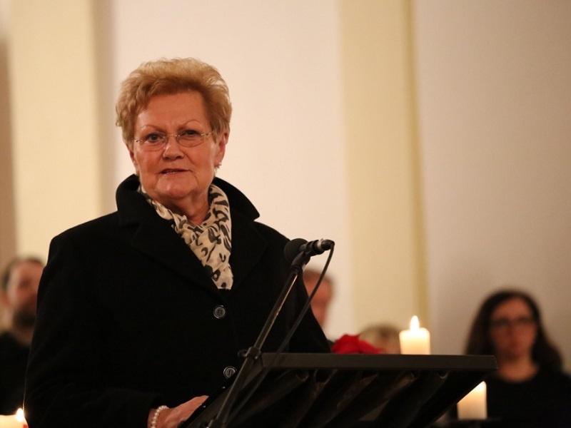 Ministerin Bachmann bei der Politischen Neujahrsandacht 2016, Foto: Kgm. St. Wendel