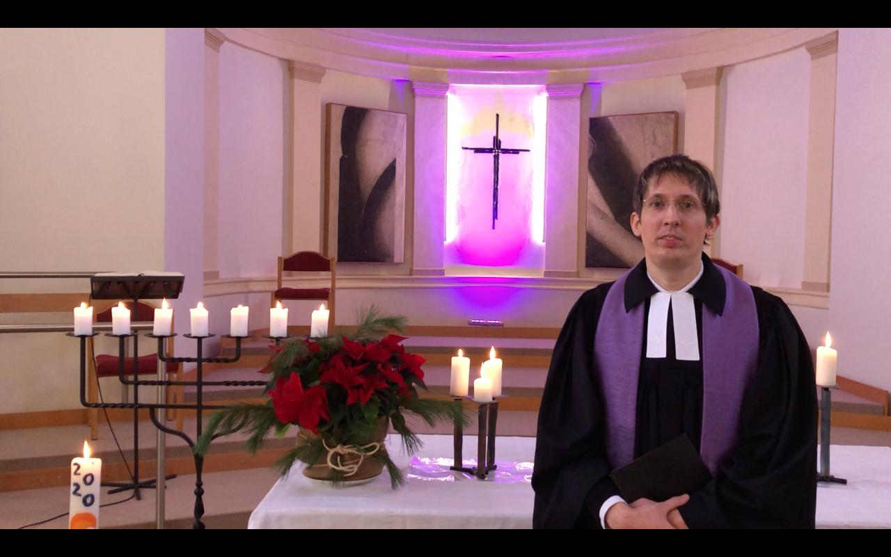 Unser Gottesdienst zum 3. Advent