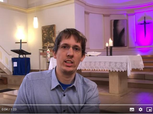 Pfarrer Gabriel Schäfer auf Youtube