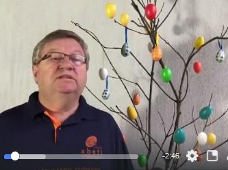 Video-Botschaft zu Ostern aus Novo Hamburgo
