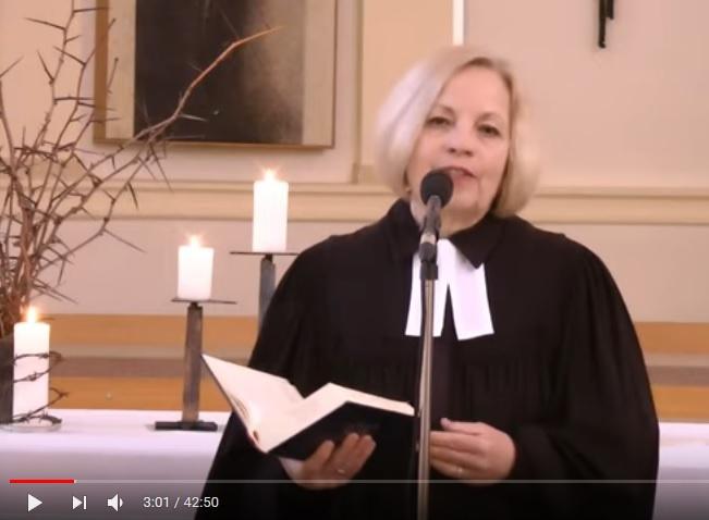 Video-Gottesdienst zu Plamsonntag aus der Stadtkirche