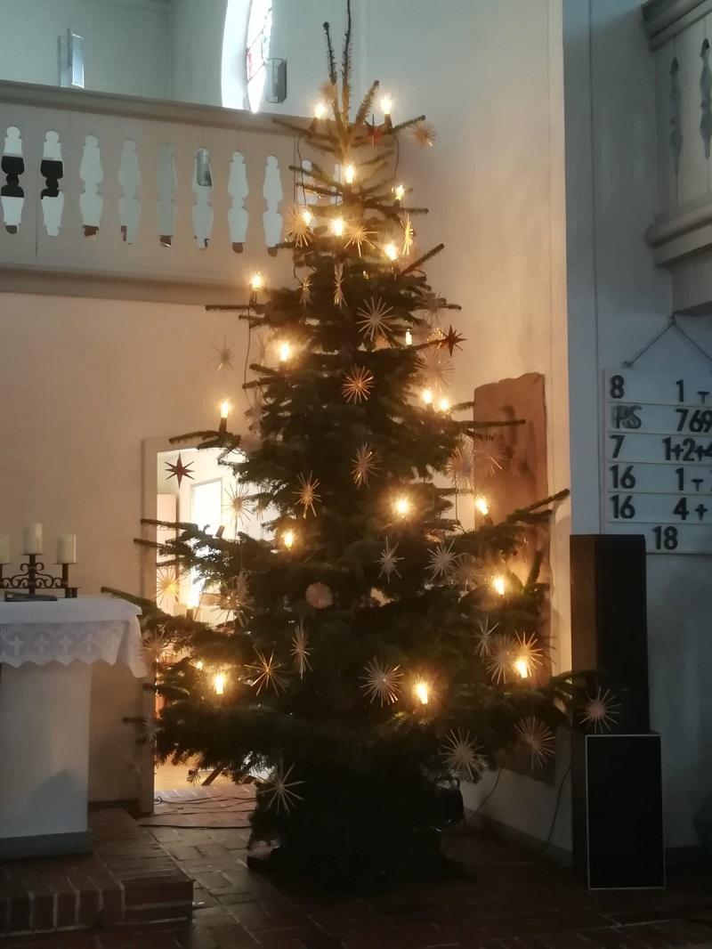 Frohe Weihnachten - Gottesdienste in der evangelischen Kirchengemeinde Dirmingen