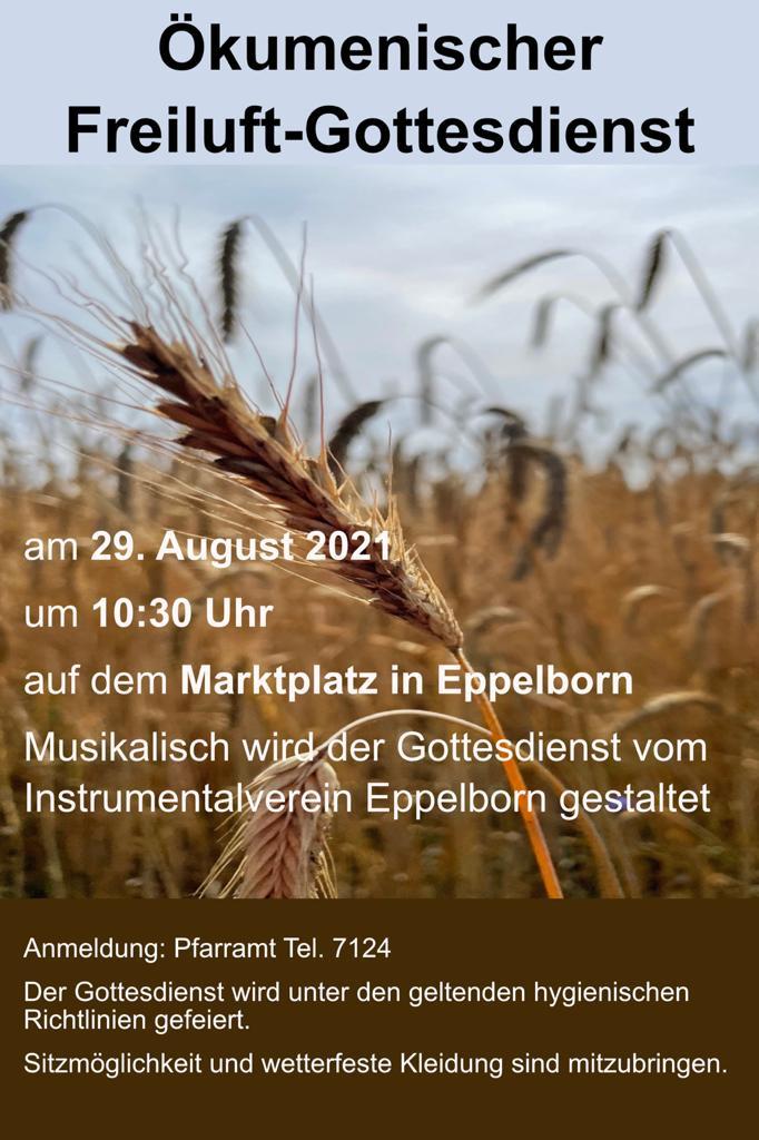 Ökumenischer Freiluft-Gottesdienst in Eppelborn