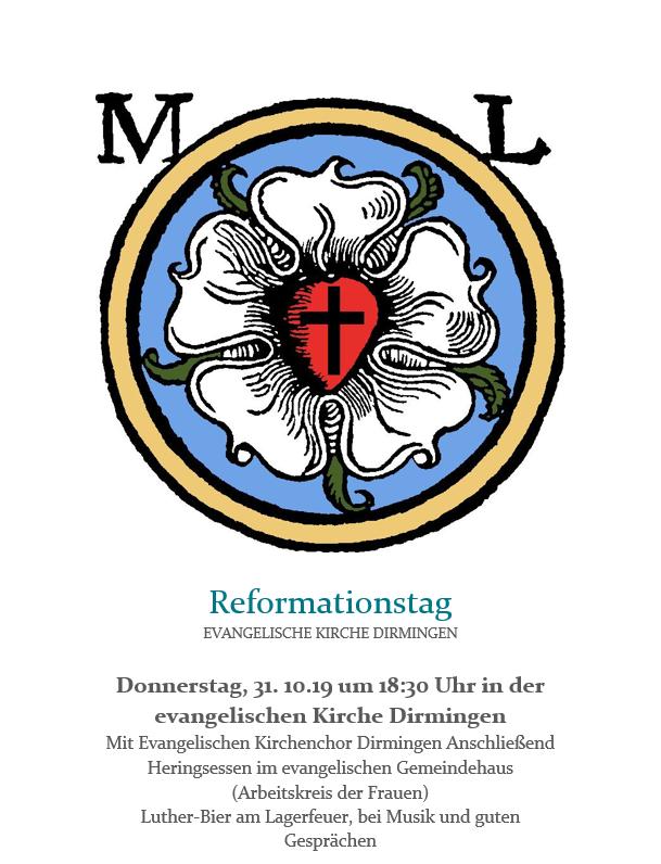 Reformationsgottesdienst mit Heringsessen