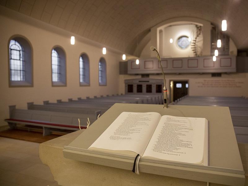 Evangelische Kirche Walpershofen - Innensanierung abgeschlossen