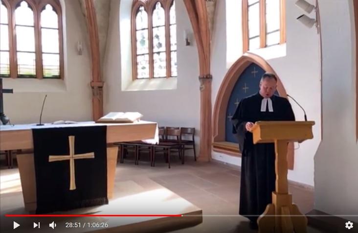 Video-Gottesdienste während der Corona-Krise