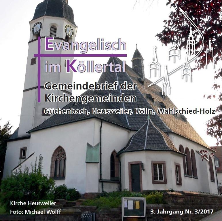 Evangelisch im Köllertal 3/2017