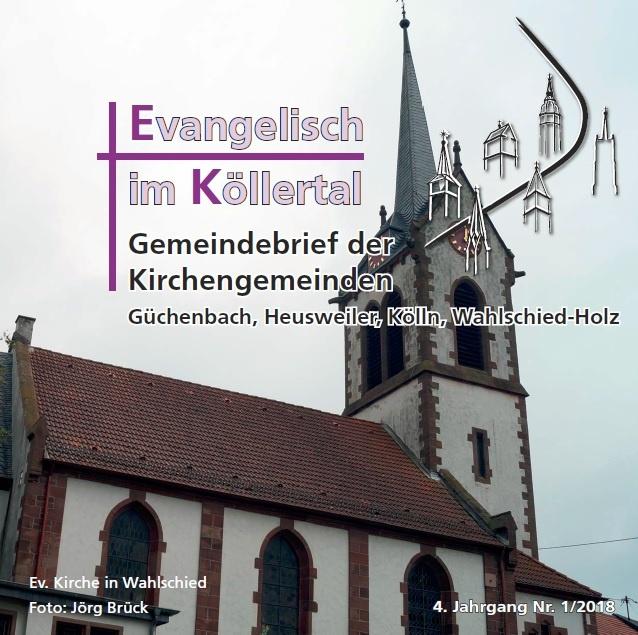 Evangelisch im Köllertal 1/2018
