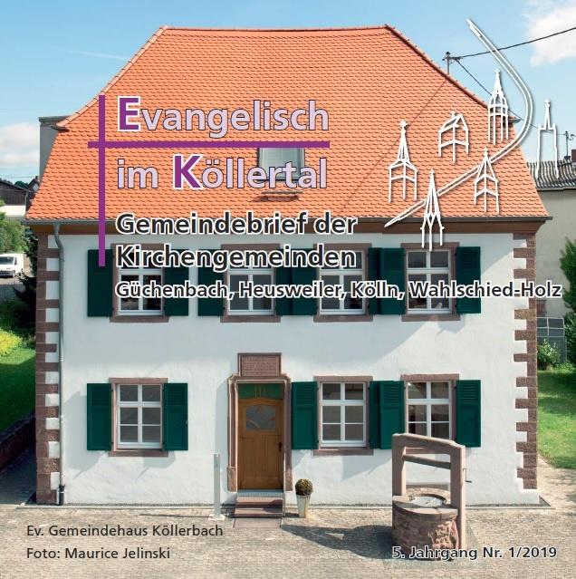 Evangelisch im Köllertal 1/2019
