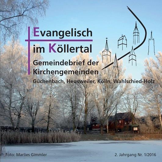 Evangelisch im Köllertal 1/2016