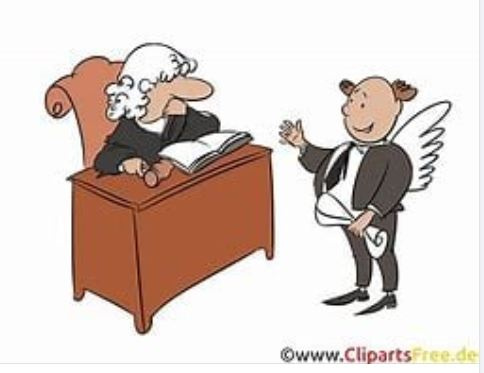 Die Kirche wird zum Gerichtssaal
