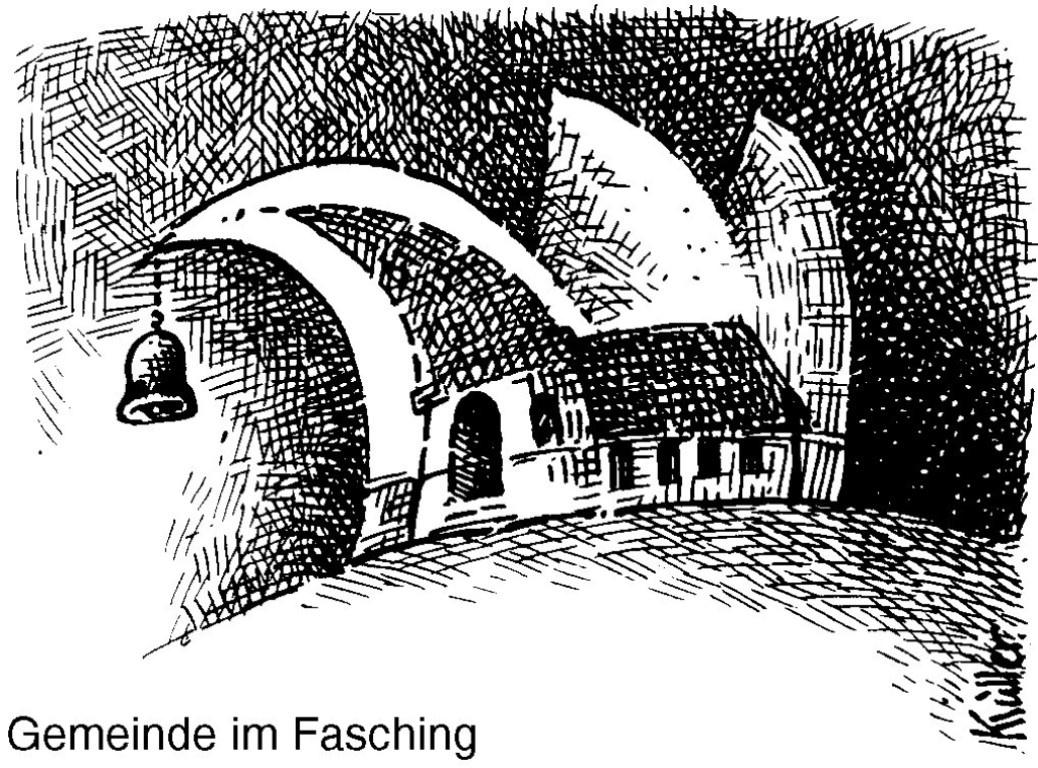 Gottesdienst an Faschingssonntag