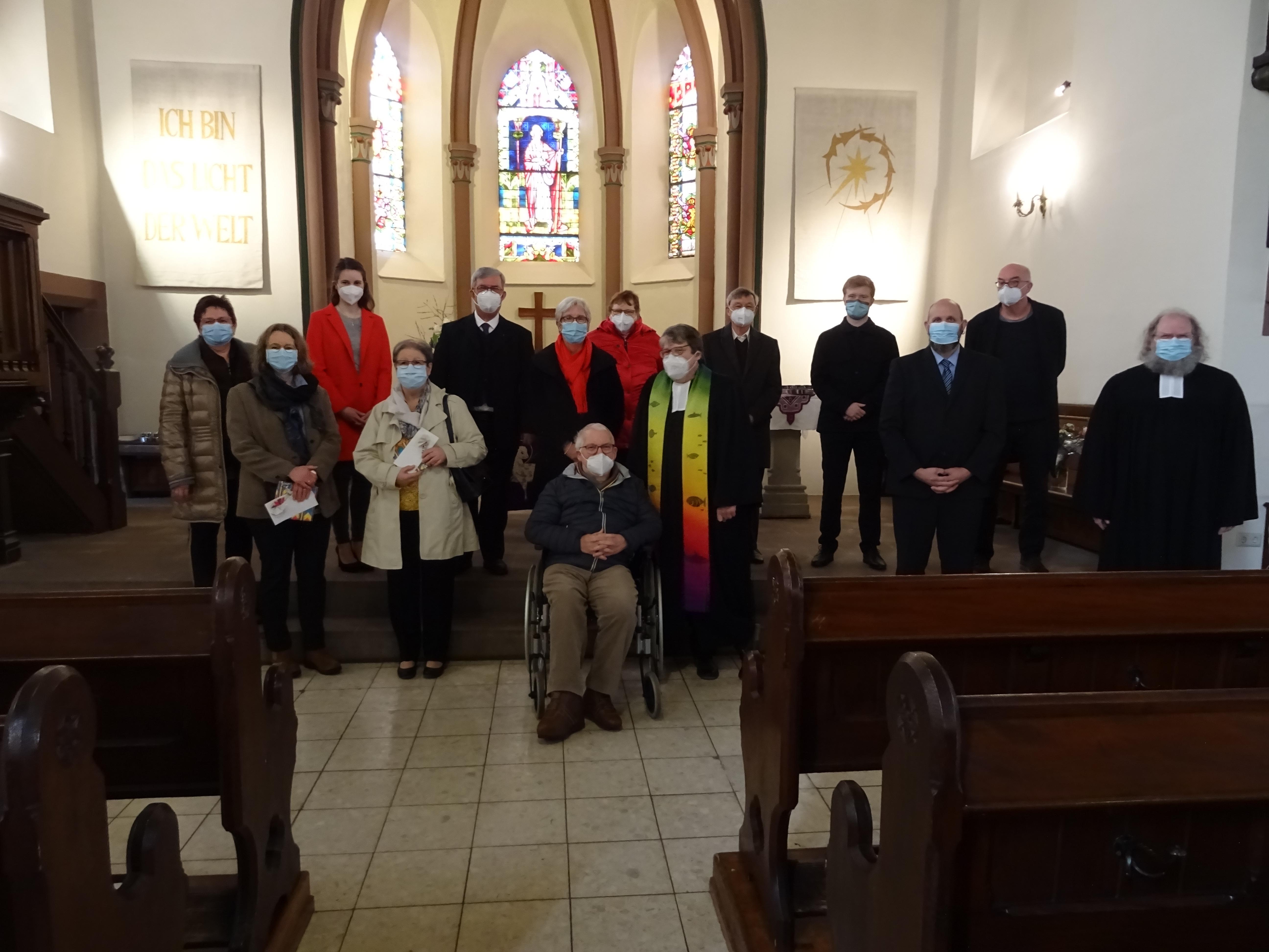 Verabschiedung und Einführung Presbyterium
