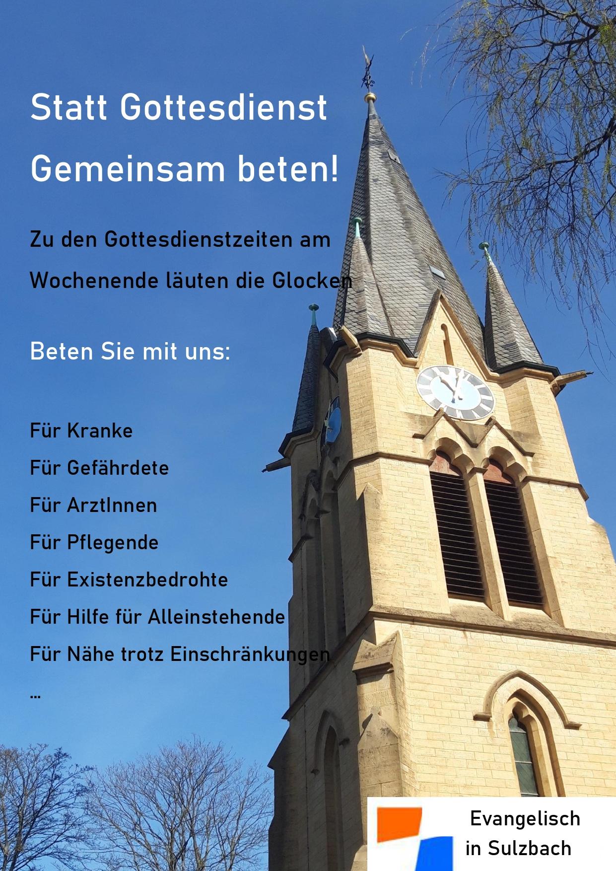 Informationen zu unseren Gottesdiensten