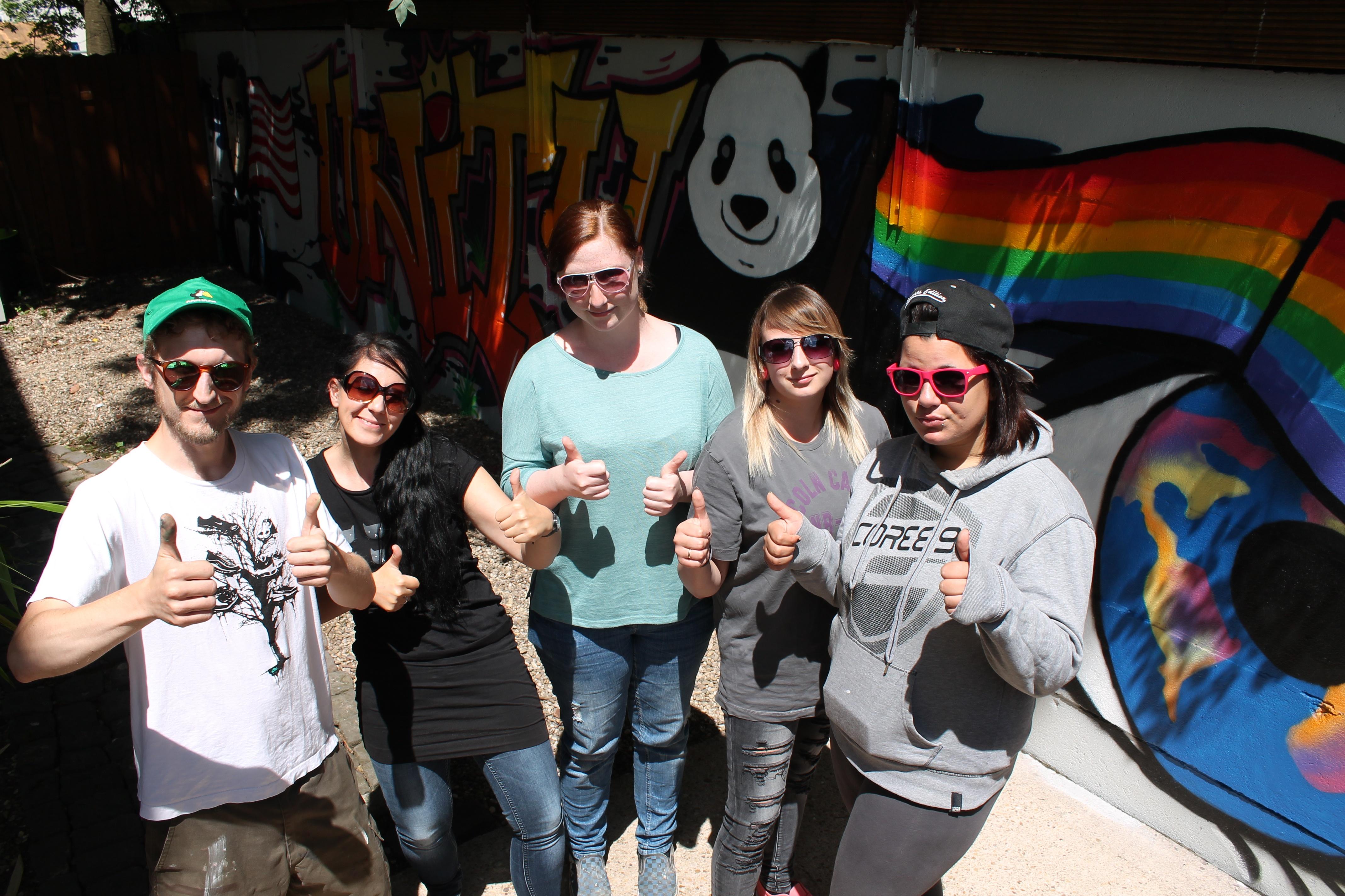 Interkulturelles Graffitti - Projekt