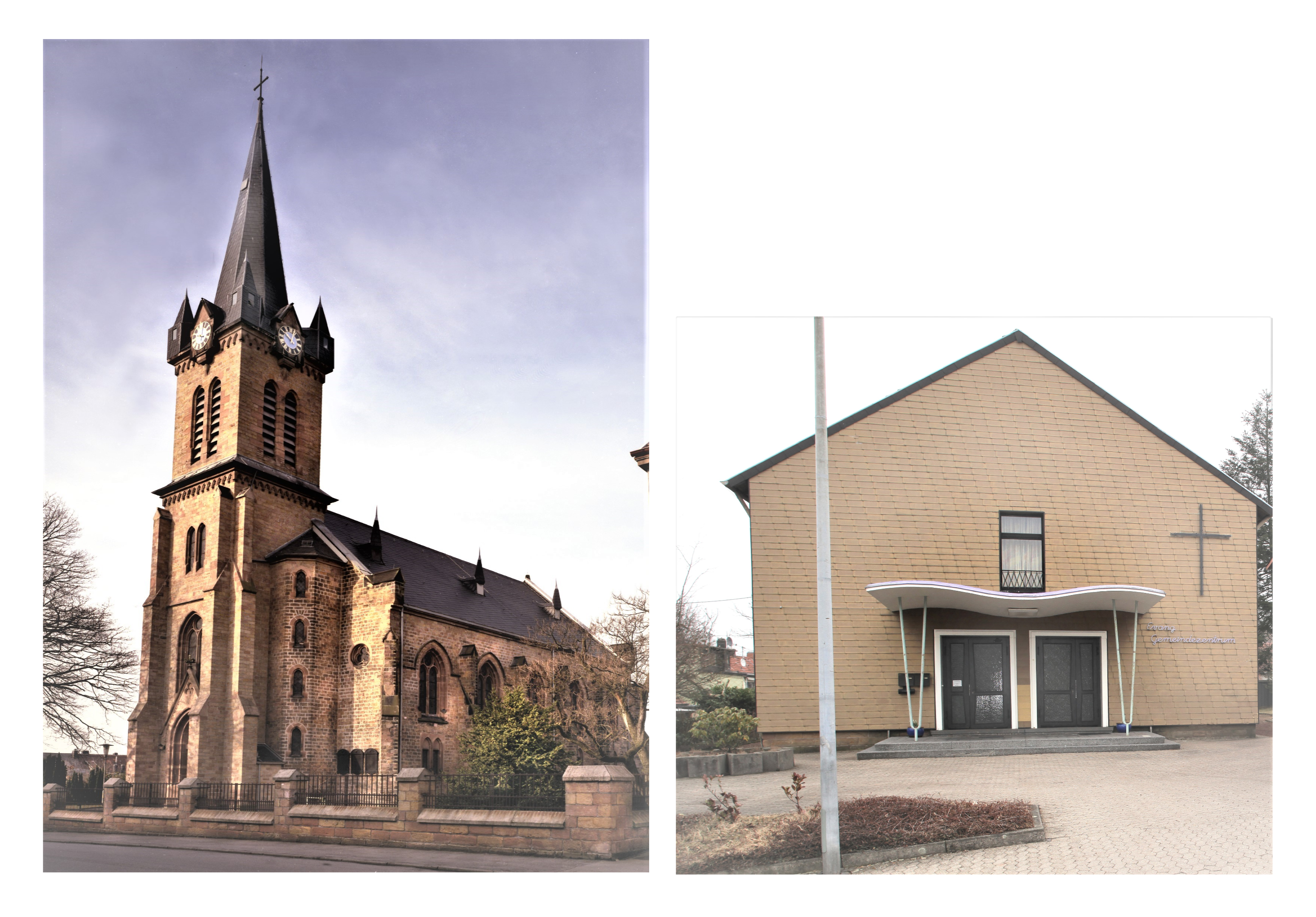 Unsere Gottesdienststätten