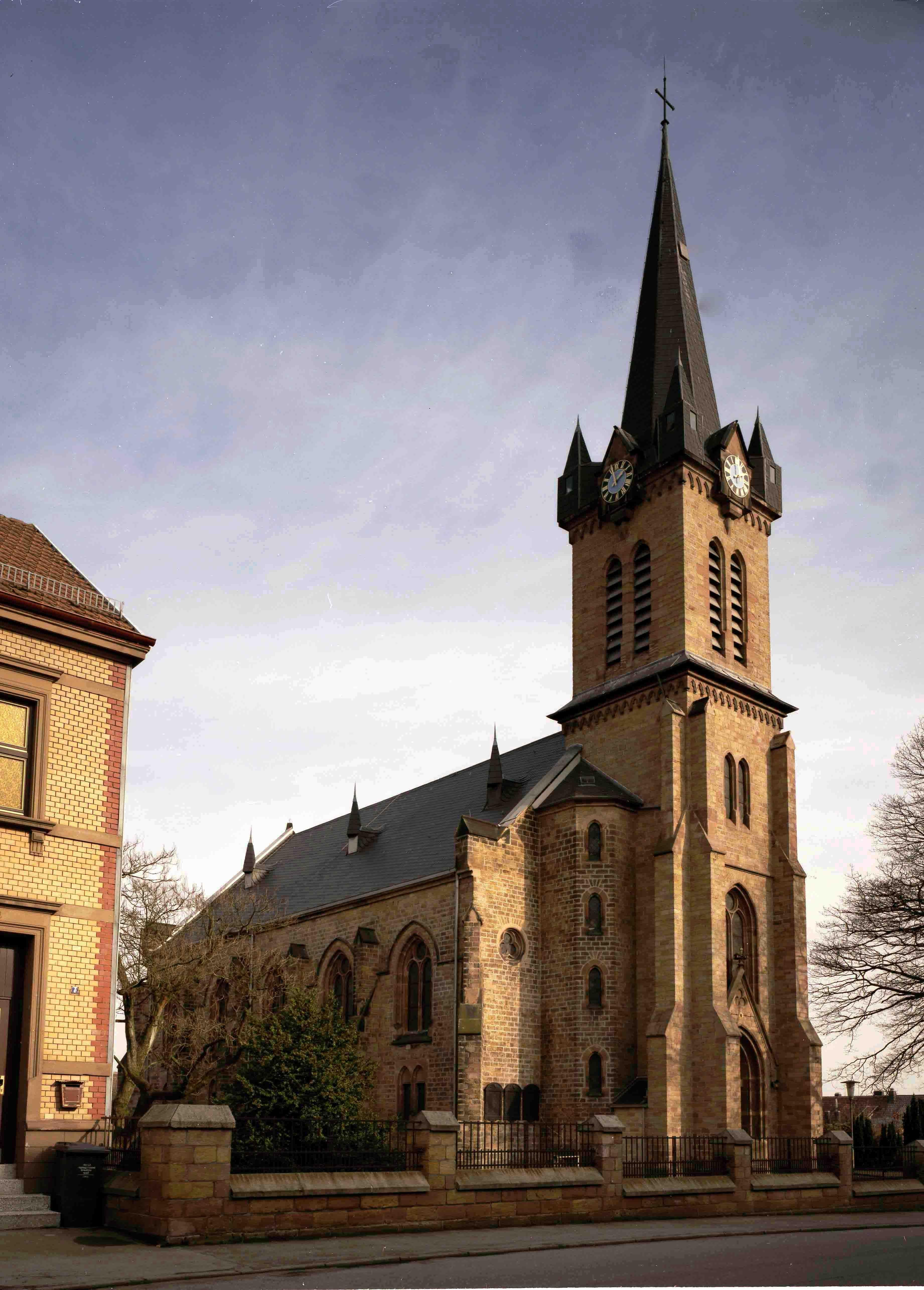 Kirche in Elversberg