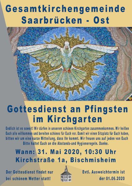 Pfingsten im Kirchgarten