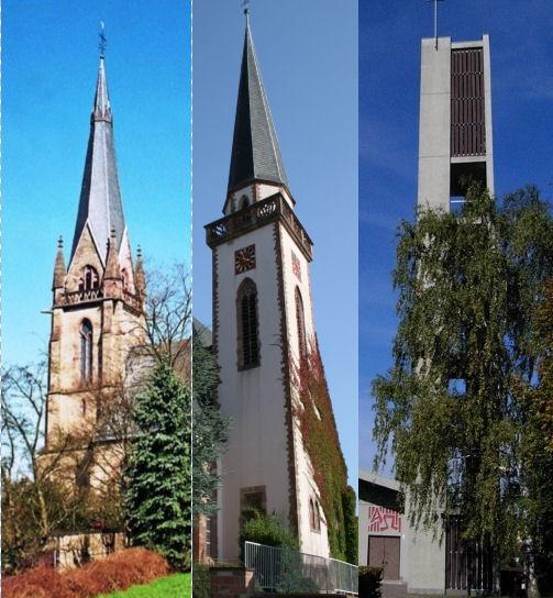 Wieder Gottesdienste in allen drei Kirchen