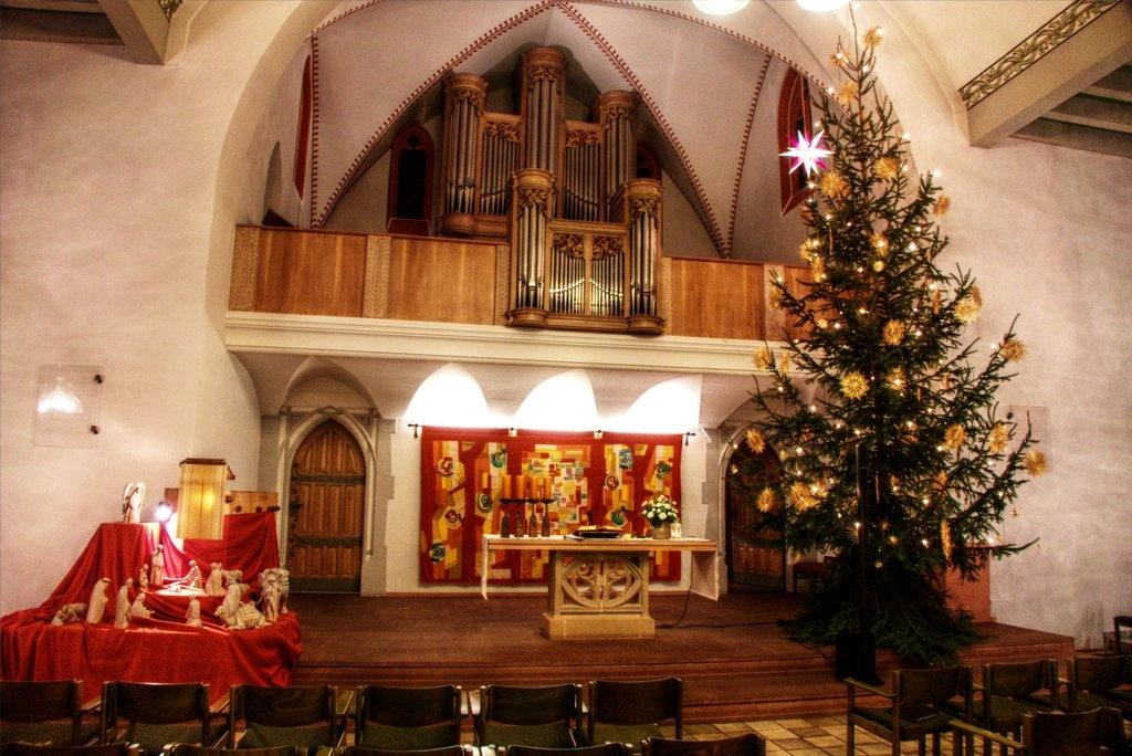 Gottesdienste an Weihnachten 2019