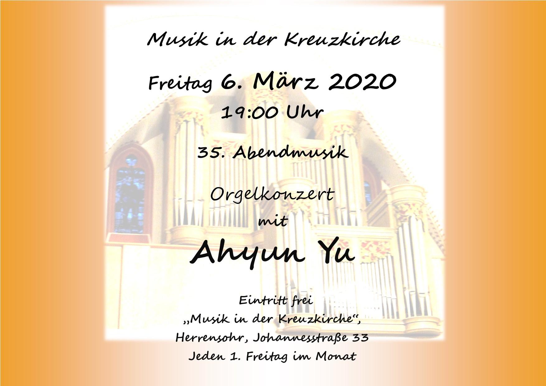 35. Abendmusik in der Kreuzkirche
