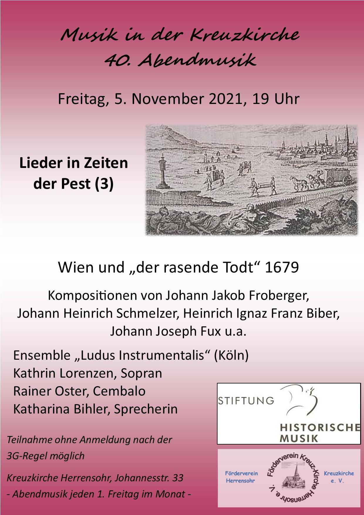 Musik in der Kreuzkirche - 40. Abendmusik -
