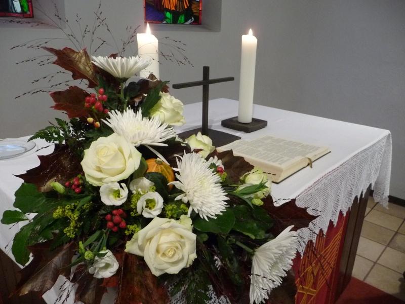 Altar der Evangelischen Kirche in Fischbach
